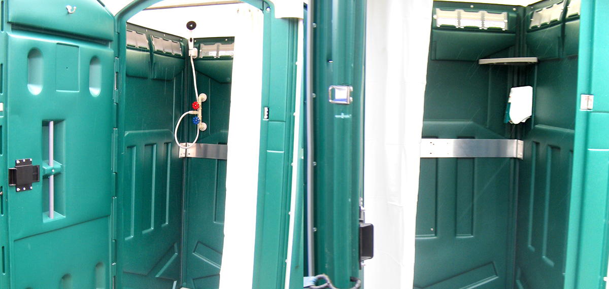 portable conclusive solutions rentals trailer showers shower stall head faq tag trailers