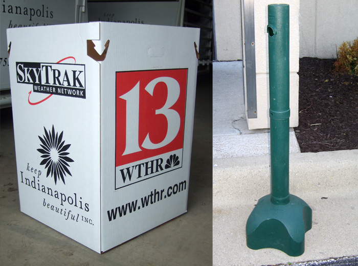 Indy Portables smoker pole rentals