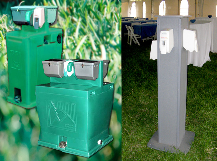 Hand wash station rentals in Indy