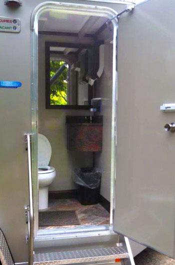 Indianapolis portable restroom trailer rentals indy for Rent a portable bathroom