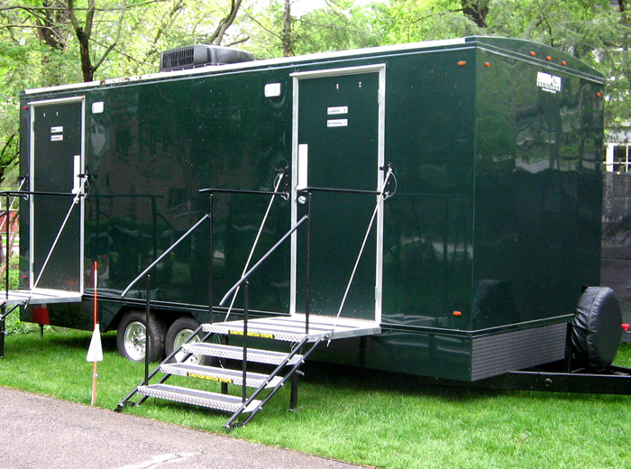 Indys luxury portapotty trailer rentals